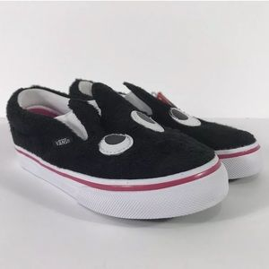 Vans Slip-On Friend Party Fur Black Sneakers